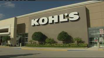 Kohl's is America's largest department store chain.