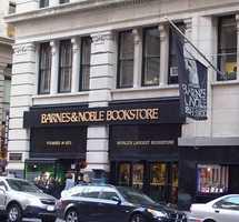 4.) Barnes & Noble (tie)