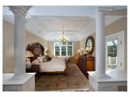 The second floor has a luxurious masters suite with a new master bathroom