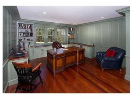 Private office with separate entrance.