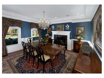 The home has more than 10,700 square feet of living space.