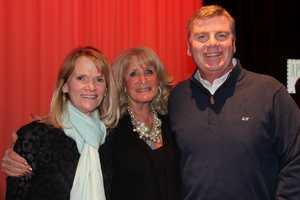 Martha Raddatz with Susan and Mike Lynch.