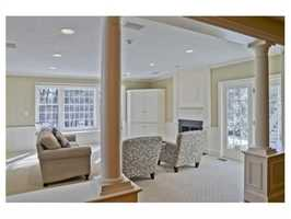 The home has more than 5,700 square feet of living space.