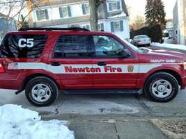 Representatives from the Newton Fire Department.