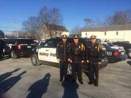 Quincy Police wishes Tyler a happy birdayday and is proud to be a part of Tylers Troops' celebration