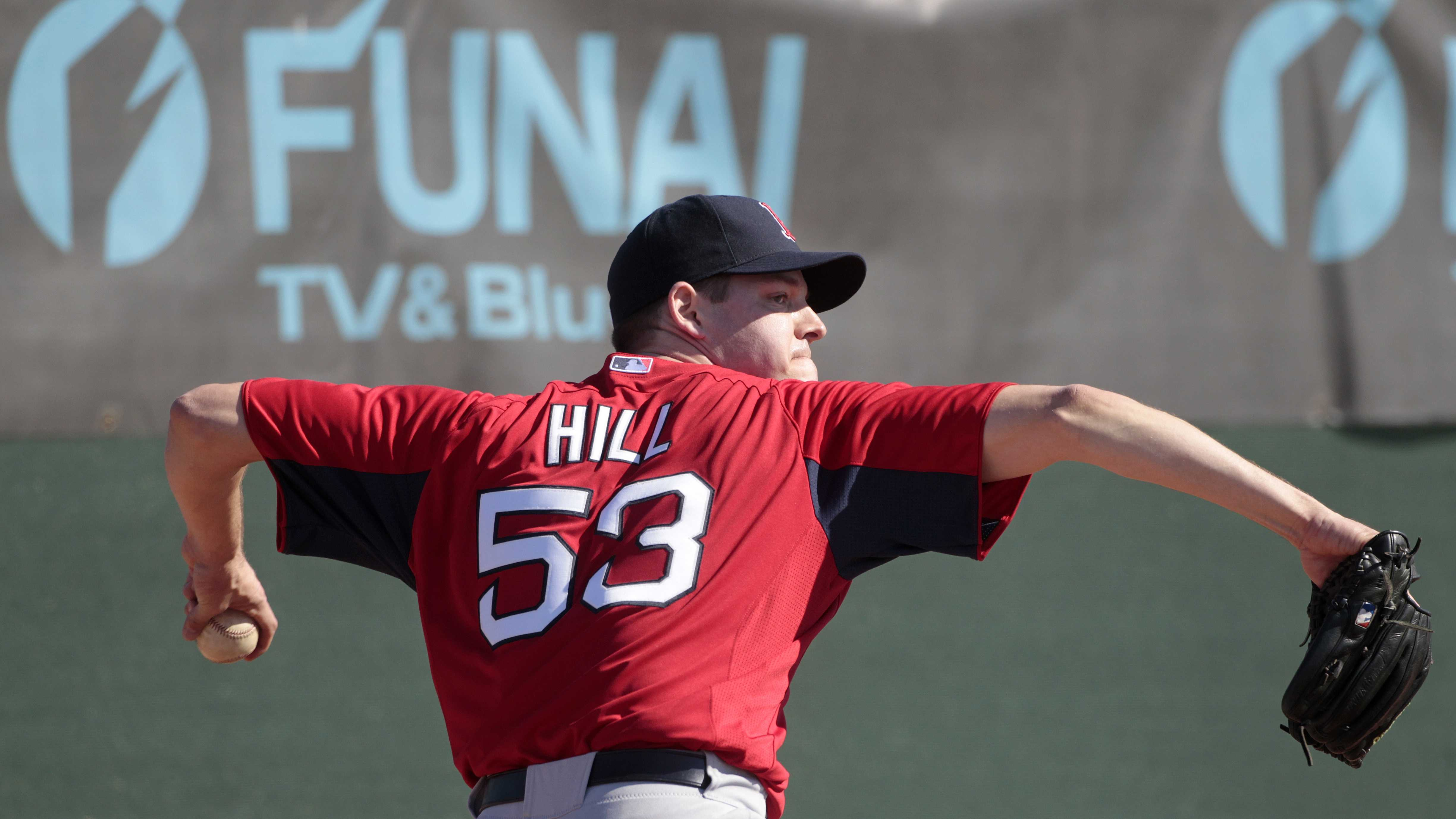 Rich Hill Red Sox 3.6.14
