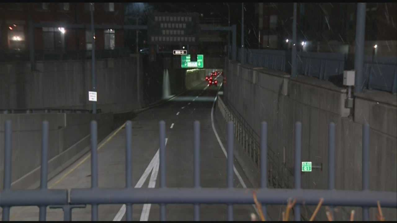 Callahan Tunnel opens ahead of schedule