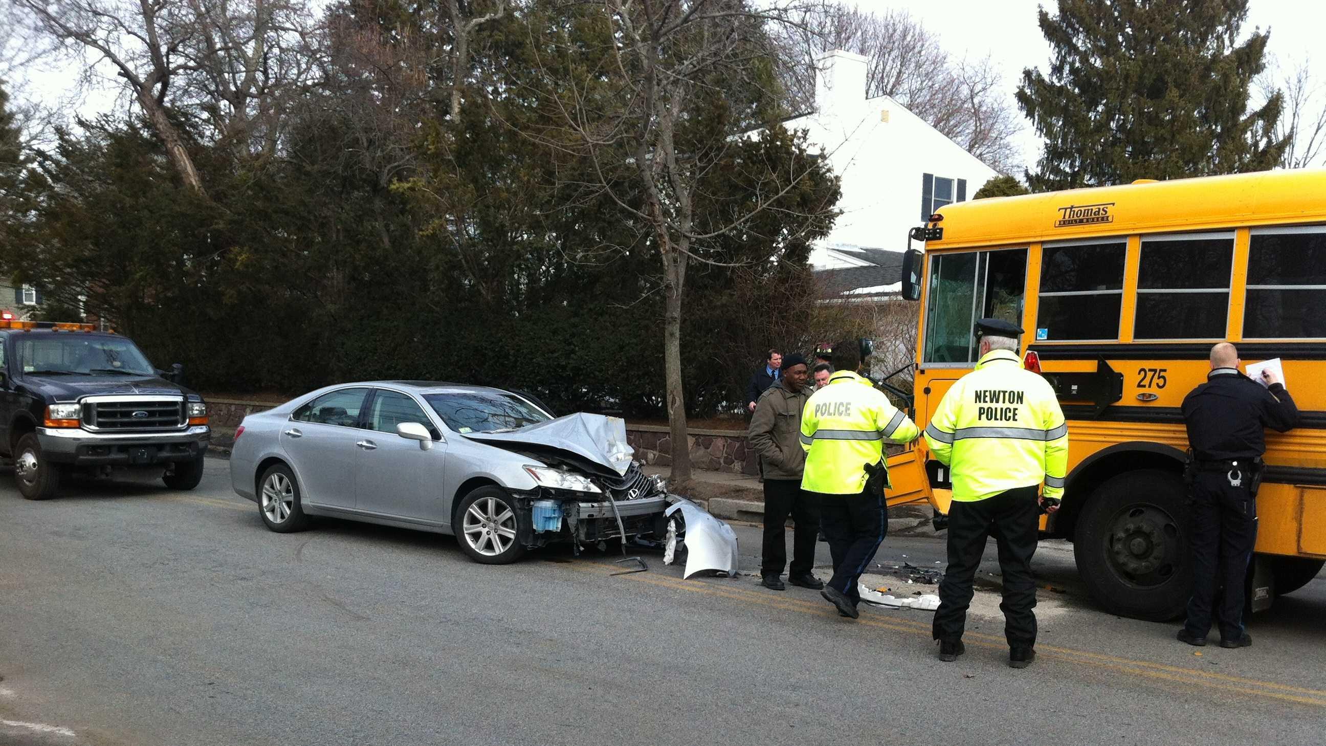 Newton bus crash