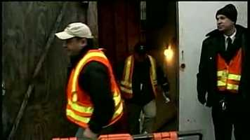 There were 90 passengers on board the train when it derailed in the Copley Square station.