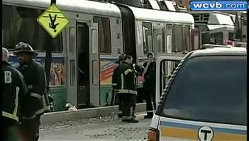 In October, 2012, two Green Line trains collided on Huntington Avenue.