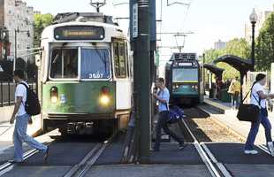 The injury rate on the Green Line is 40 times higher than other lines, according to the FTA data.