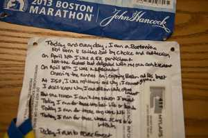 """""""Today and everyday, I'm a Bostonian,"""" someone wrote."""