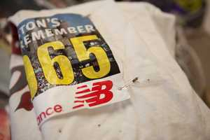"""""""You can't erase what happened at the marathon,"""" said Crilly, """"but you can see the beauty of humanity in what was left in the memorial. It's very encouraging."""""""