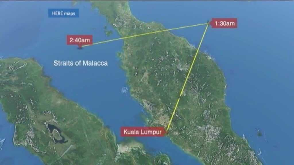 (img1)New Developments in the Missing Malaysia Flight