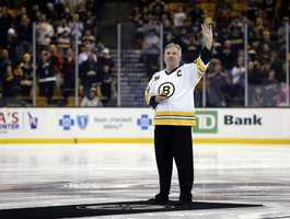 Terry O'Reilly played for the Boston Bruins from 1971 to 1985.