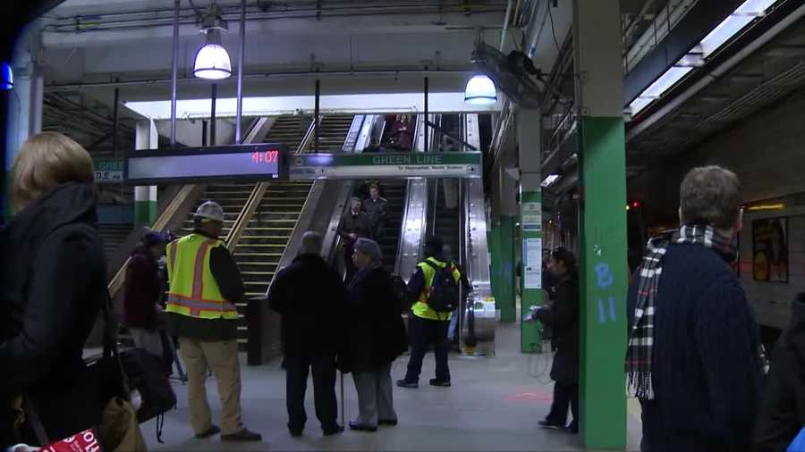 The MBTA will rebuild elevators from the surface to the Green Line level as well as from the Green Line level to the Blue Line level.