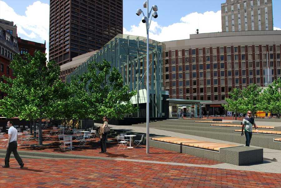 Proposed City Hall Plaza