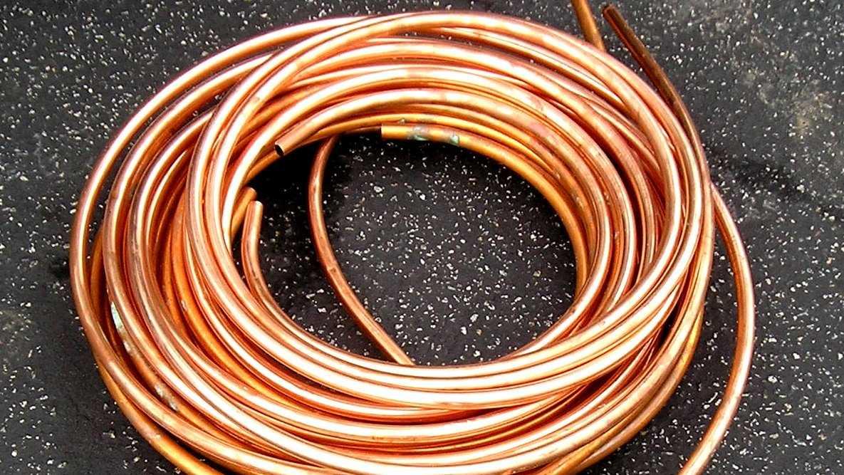 Copper tubing good still 3.19.14