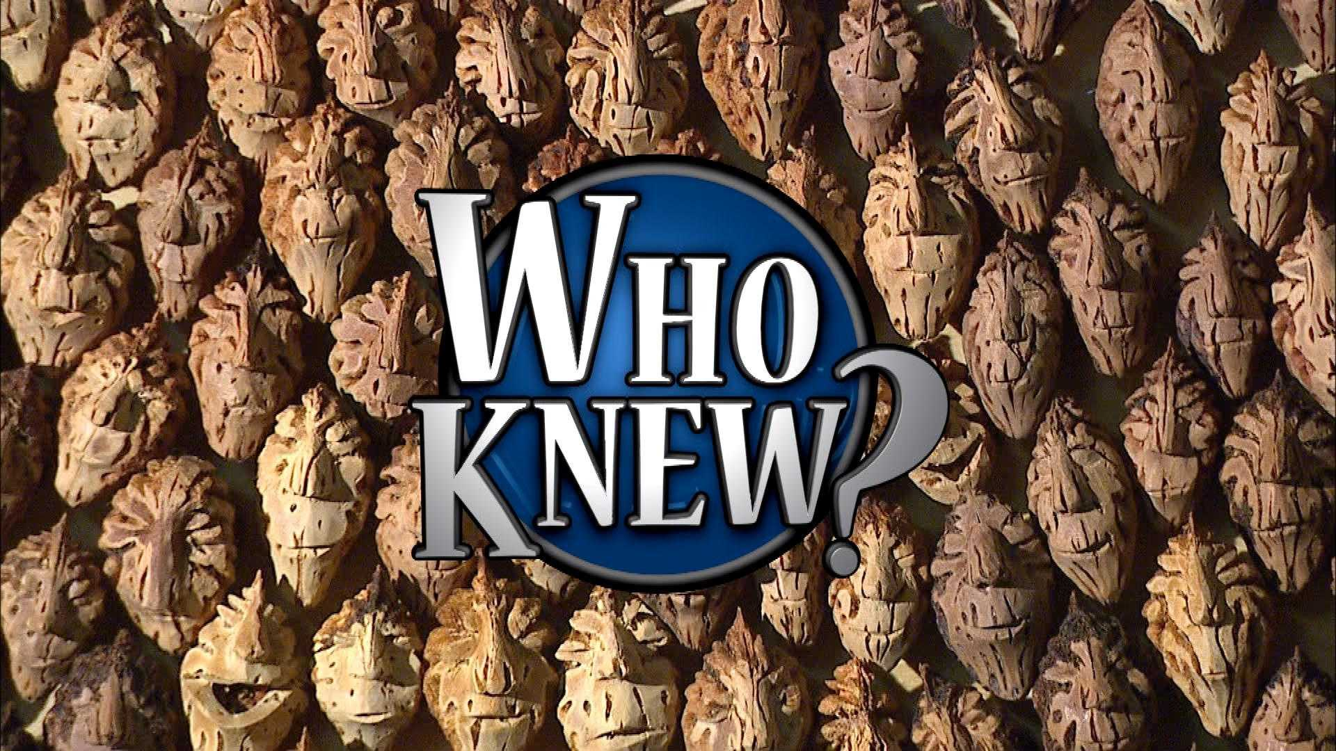 Friday, March 28: Who Knew?