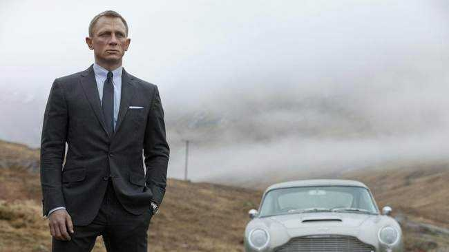 "Daniel Craig in a scene from ""Skyfall,"" the latest Bond movie."