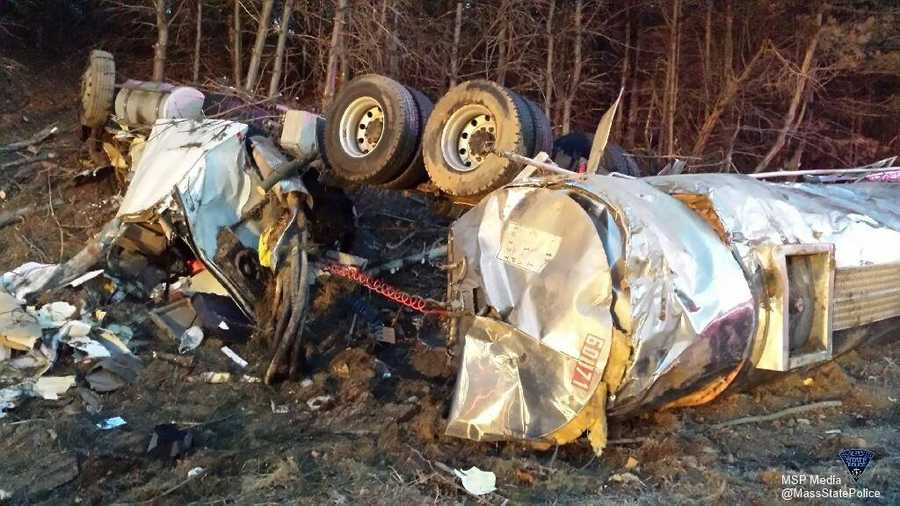 It happened near the exit for Interstate 495.