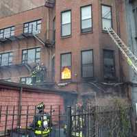 """But the firefighters were told, """"Stay out of the building."""""""