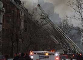 After the seventh alarm sounded, all firefighters were ordered from the building, but when word came that the two firefighters were missing, some demanded to go back in.