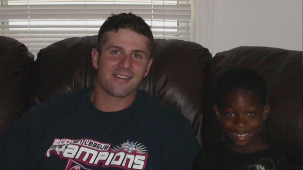 Teen shares special bond with fallen firefighter Michael Kennedy