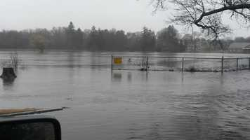 More flooding at Buttonwood Park in New Bedford.