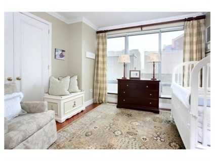 3 well proportioned bedrooms each have their own lavish bath.
