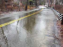 Flooding in Tewksbury