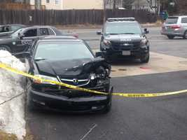 After crashing a stolen Acura, a second carjacking was reported on Nashua Road.