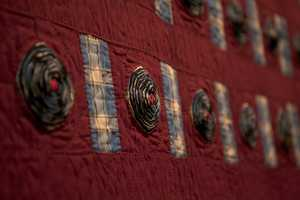 Quilting was not only a way for the women to make a living but also gave them a voice in a time when there were few opportunities for women to express themselves artistically.