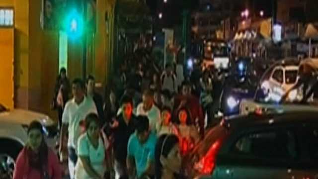 Chile evacuations