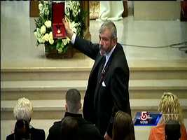 IAFF Medal Of Honor presented to family of Boston firefighter Michael Kennedy.