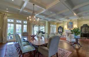 It sits on three acres in the affluent Pleasant Hills area.