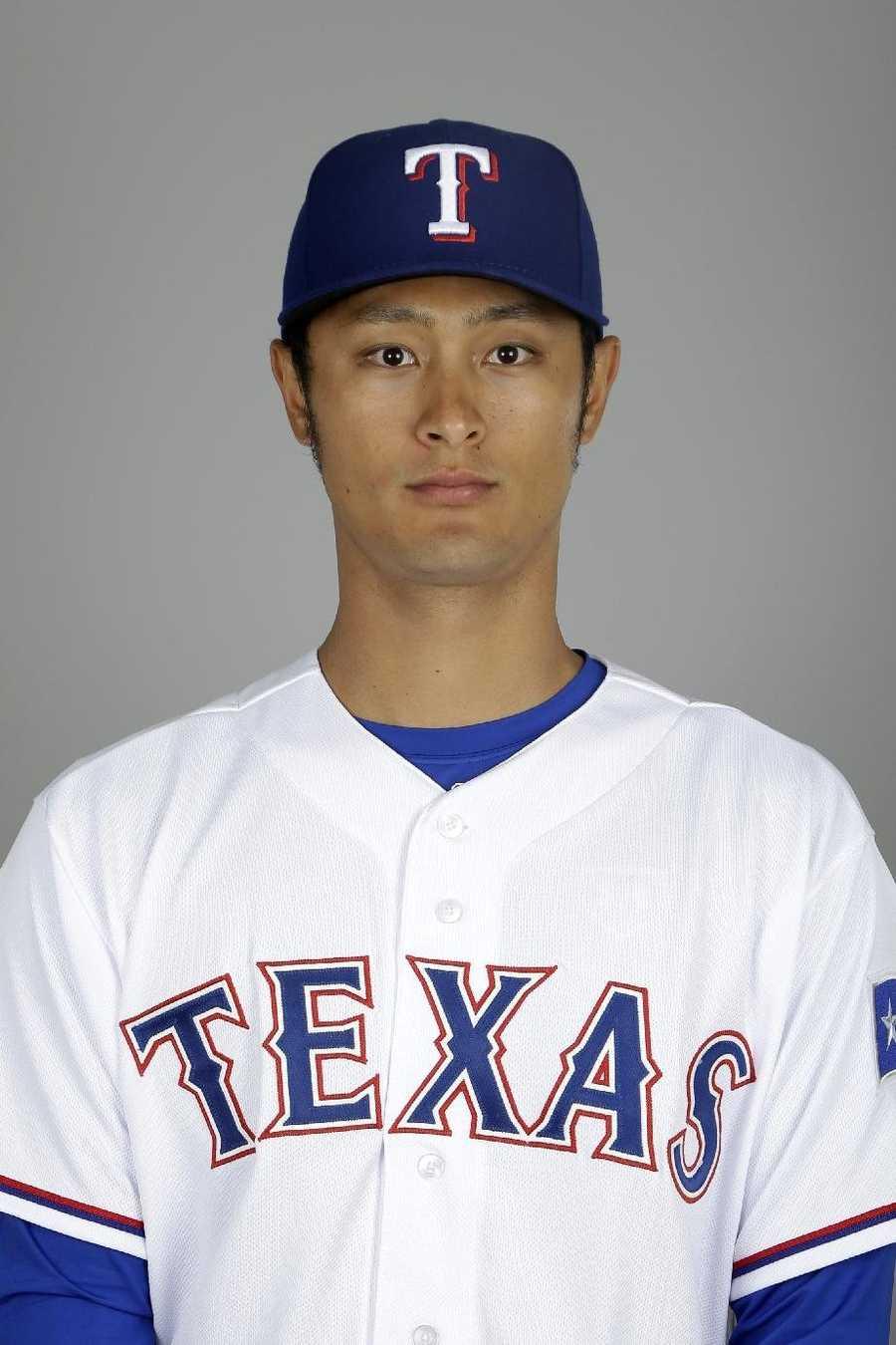 19) Yu Darvish, Texas Rangers