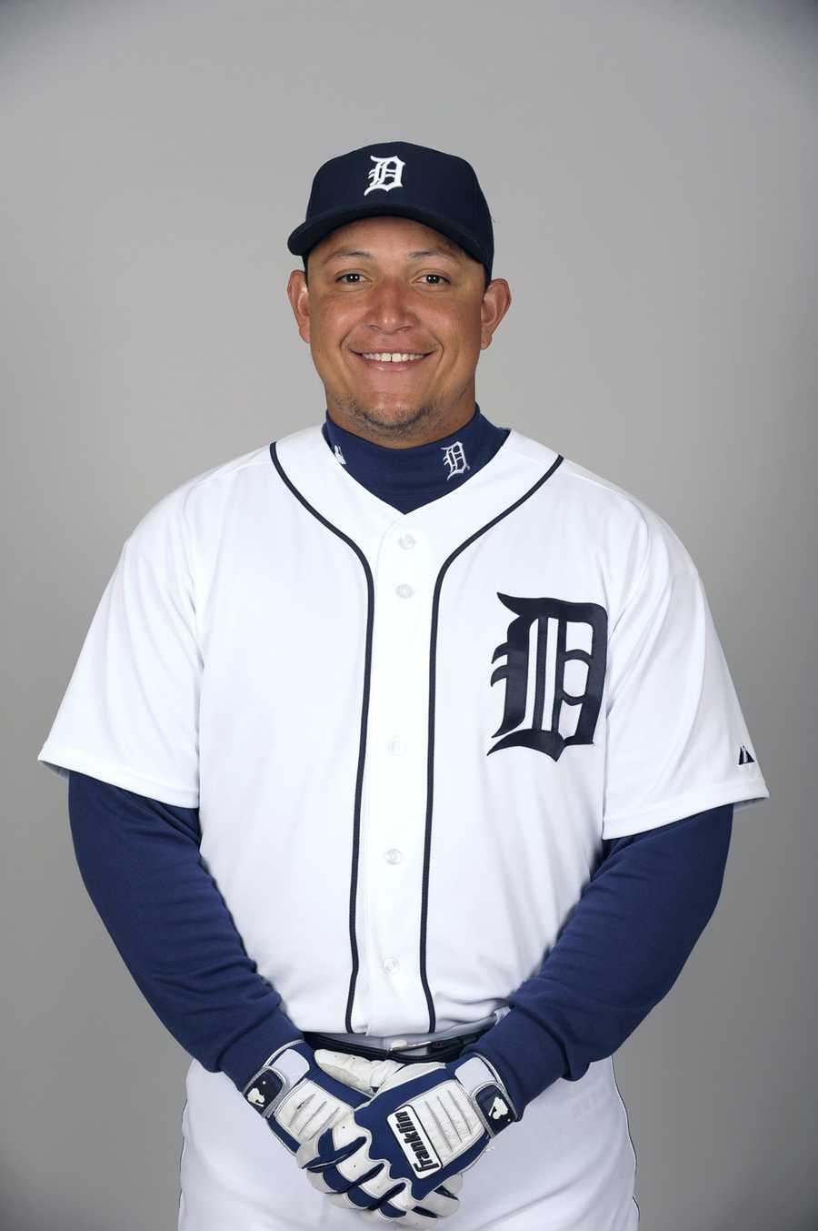 13) Miguel Cabrera, Detroit Tigers