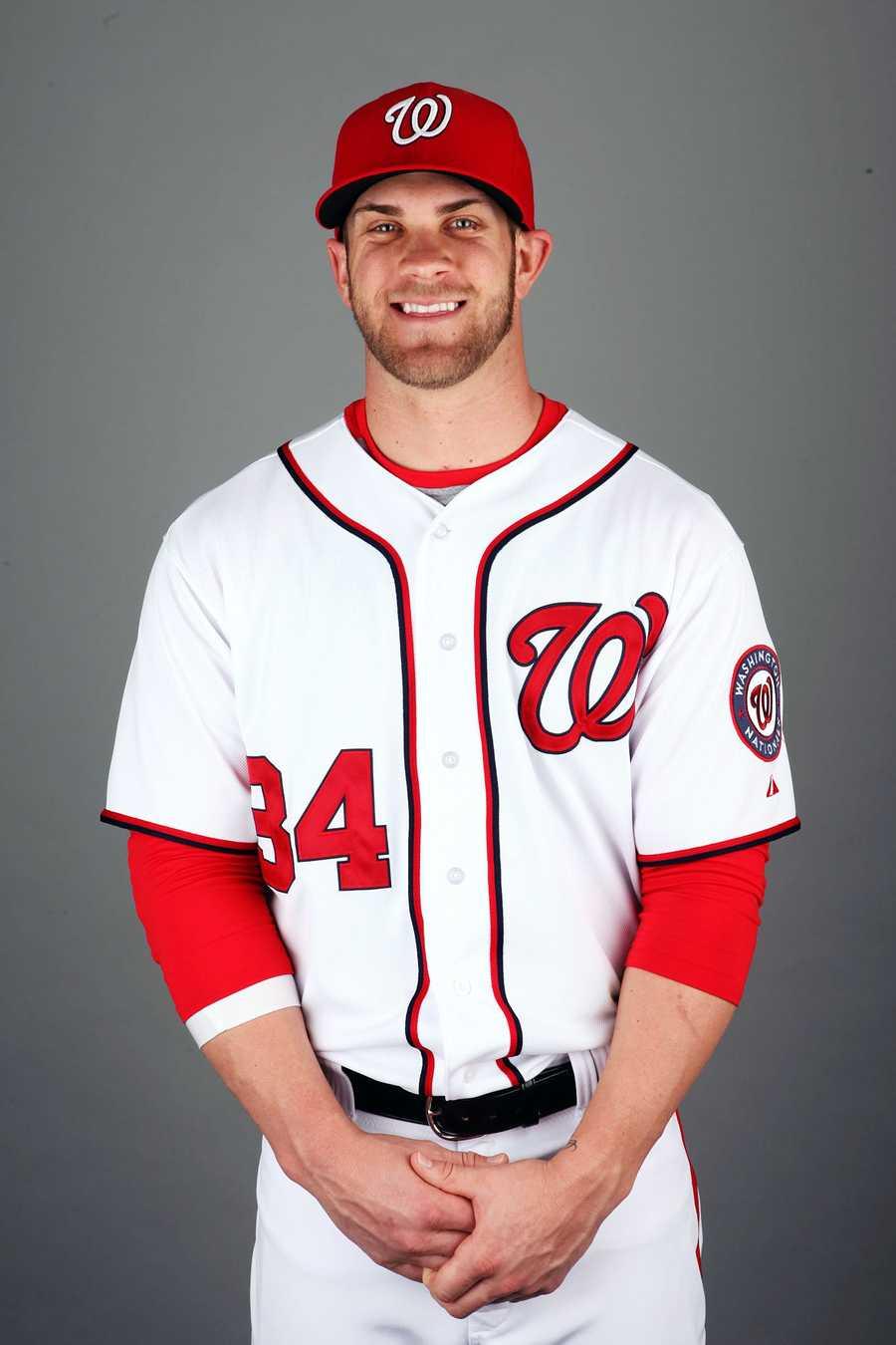 12)Bryce Harper, Washington Nationals
