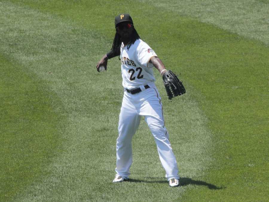 6)Andrew McCutchen, Pittsburgh Pirates