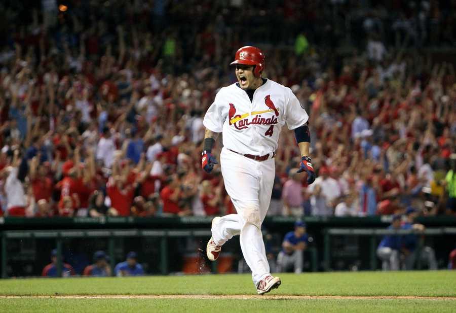 4)Yadier Molina, St. Louis Cardinals