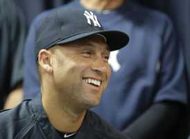 3) Derek Jeter, New York Yankees