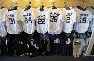 Many of the top performers during the 2013 Postseason top the list of the most popular jerseys sold during the MLB 2013-14 offseason.  Check out how many Red Sox players made the list.