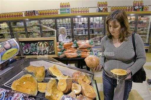 a Maria Silva is seen shopping in a grocery store in Framingham.