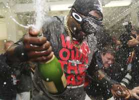 Red Sox fans are hoping the 2014 Major League Baseball season will end the same way the 2013 season did - with celebrations in the locker room.