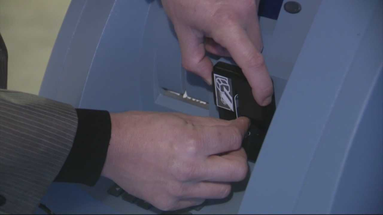 Thieves using bank account information stolen in Cambridge have been defrauding banks, Cambridge police said, using so-called ATM skimmers.