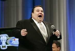 "John Pinette was the chubby stand-up comedian who portrayed a hapless carjacking victim in the final episode of ""Seinfeld."" The Boston native appeared in movies including ""The Punisher"" and had a trio of stand-up shows released on DVD. The self-deprecating Pinette was a portly presence on stage, frequently discussing his weight on stand-up specials ""Show Me the Buffett,"" ""I'm Starvin'!"" and ""Still Hungry."" (March 23, 1964 - April 6, 2014)"