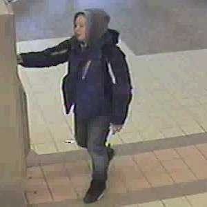 Theft - Case No. 140193March 08, 2014Quincy : Quincy Center MBTACase Details:On Saturday March 8, 2014 victim reported a B&E to her MV. She subsequently reported unauthorized activity on her stolen debit card. The above white female is observed utilizing the stolen debit card at the Quincy Center MBTA.If you have any information about the identity of this person or where they are, please contact:Quincy Police Department: (617) 745-5768Investigator: Detective David P. PacinoCase Submission No.: 140193