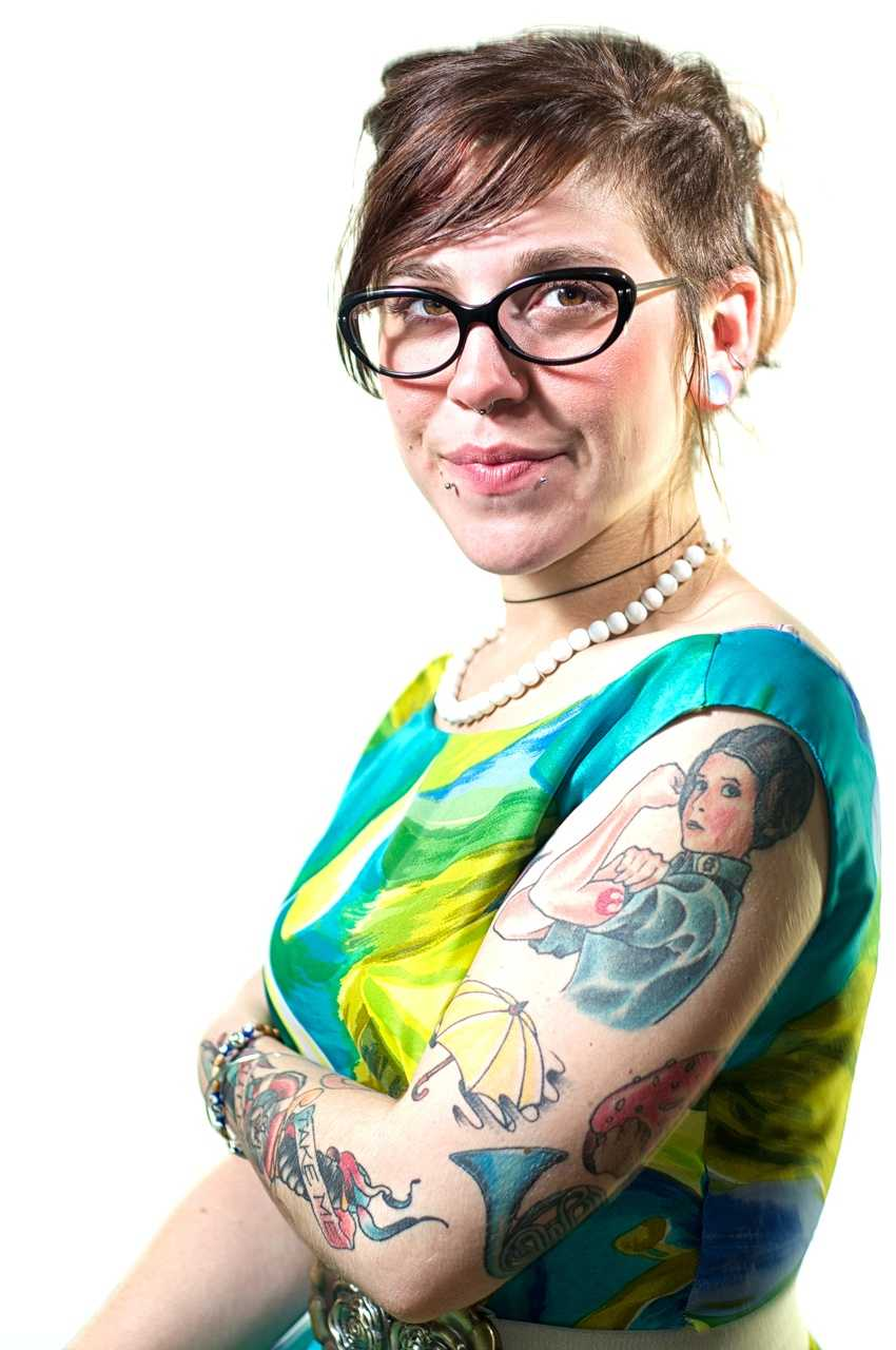 "Sarah-Jean ""SJ"" Greaves' tattoo is based on a piece of artwork by Boston-based singer-songwriter Dan Blakeslee, who is her friend."
