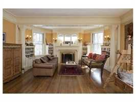 Upon entry to this historic gem you will be greeted by an enclosed front porch.